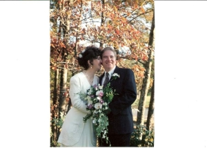 Our wedding day, November 19, 1994